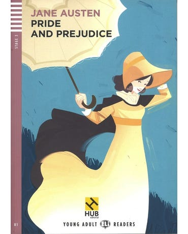 Pride And Prejudice - Hub Young Adult Readers - Stage 3 - Book With Audio CD